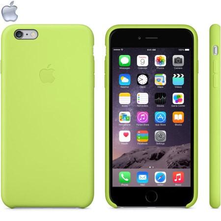 قاب محافظ سیلیکونی اورجینال سبز مناسب براي گوشی موبايل آیفون 6 / 6S
