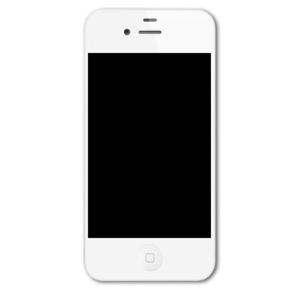 تاچ ال سی دی گوشی موبایل آیفون IPHONE 4S مشکی سفید