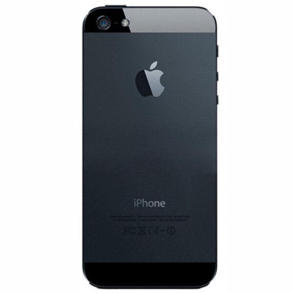 قاب و بدنه کامل با فلت های داخلی گوشی آیفون IPHONE 5 اورجینال مشکی