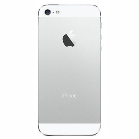 قاب و بدنه کامل با فلت های داخلی گوشی آیفون IPHONE 5 اورجینال نقره ای