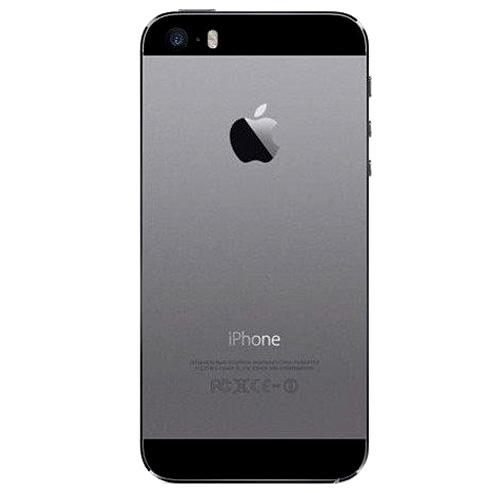 قاب و بدنه کامل با فلت های داخلی گوشی آیفون IPHONE 5S اورجینال مشکی