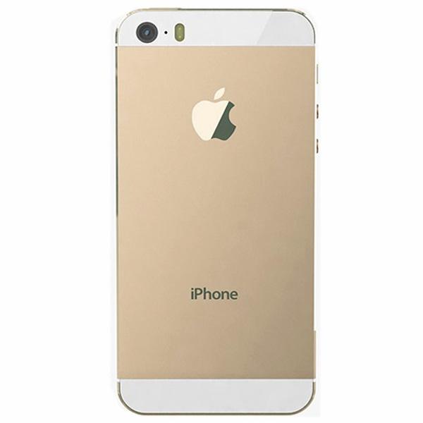 قاب و بدنه کامل با فلت های داخلی گوشی آیفون IPHONE 5S اورجینال طلایی