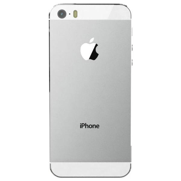 قاب و بدنه کامل با فلت های داخلی گوشی آیفون IPHONE 5S اورجینال نقره ای