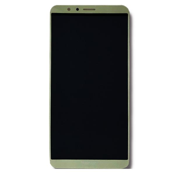 تاچ ال سی دی گوشی موبایل آنر HONOR 7X سفیدمشکی طلایی