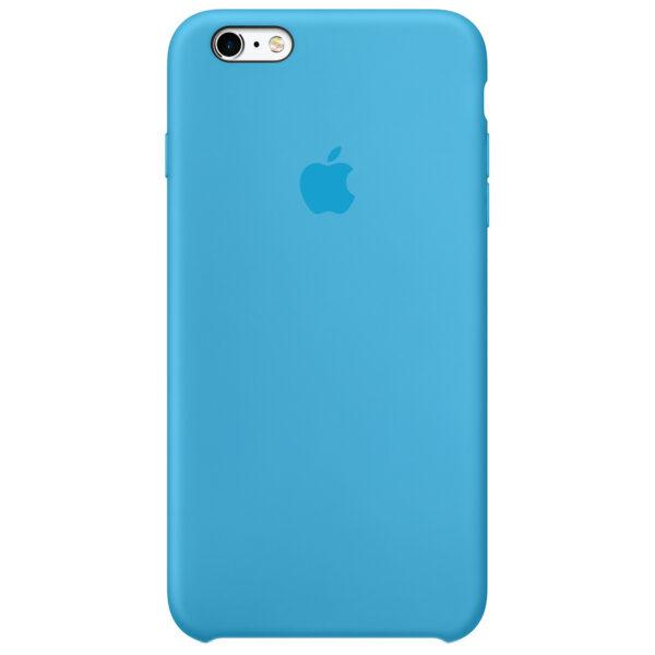 Silicone case iphone blue  e
