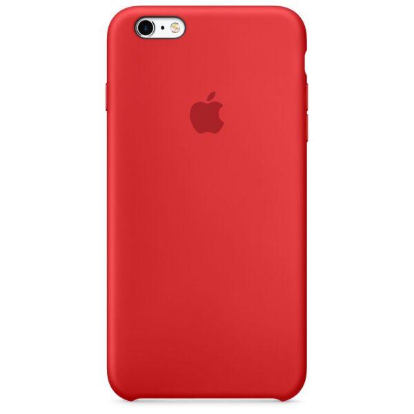 Silicone case iphone red e