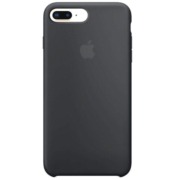 Silicone case iphoneplus gray e