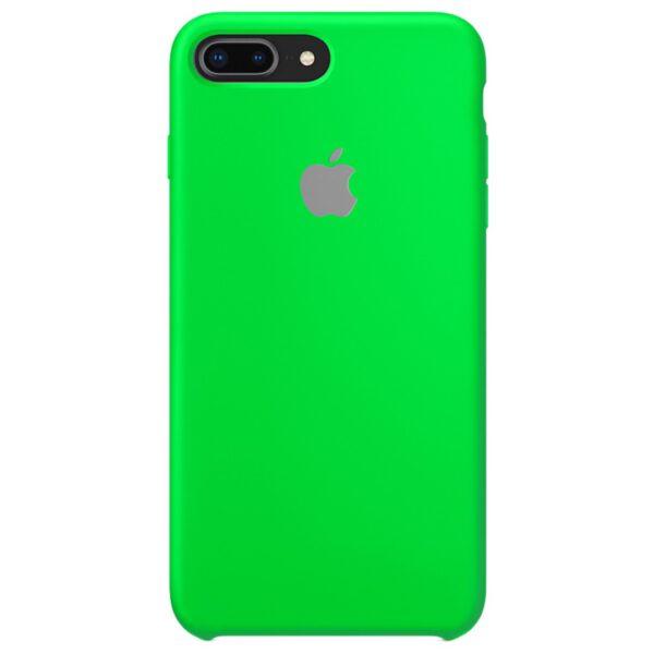 Silicone iphoneplus plus green e