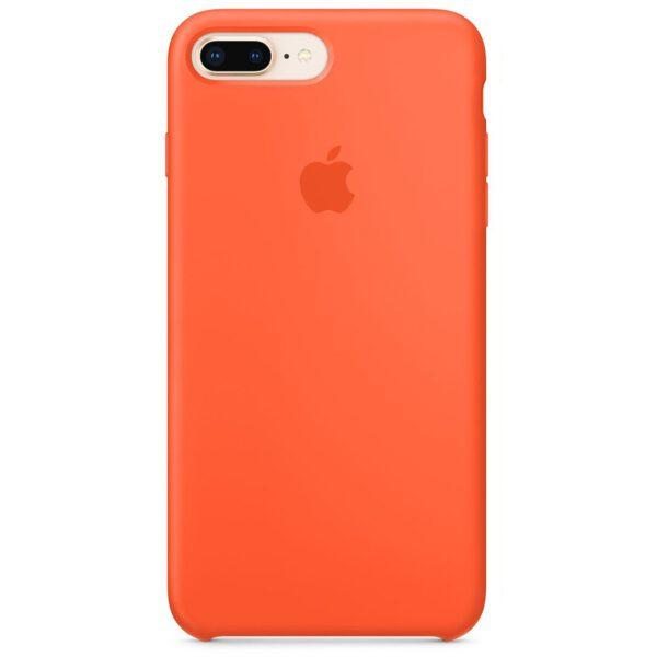 Silicone iphoneplus plus orange e