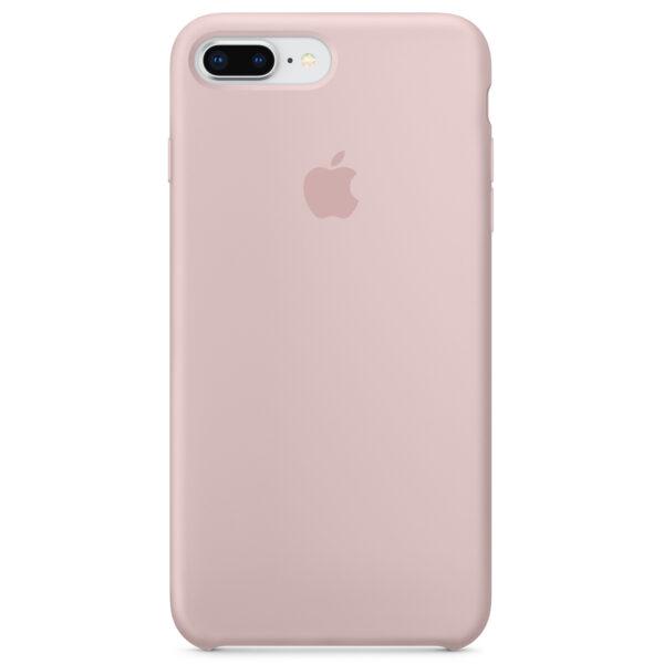 Silicone iphoneplus plus pink e