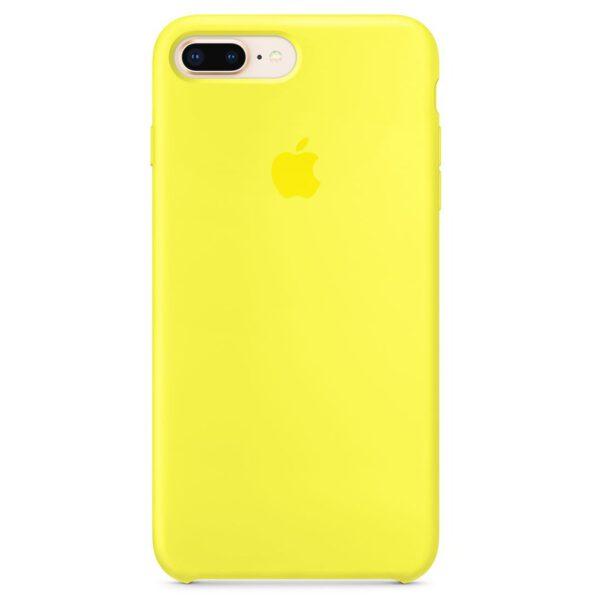 Silicone iphoneplus plus yellow e