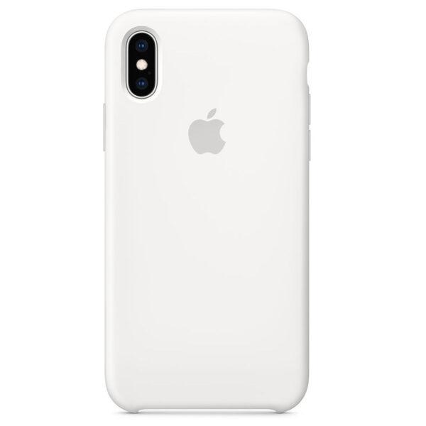 Silicone iphonex white e