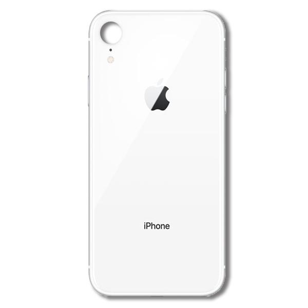 درب پشت گوشی آیفون IPHONE XR اورجينال سفيد