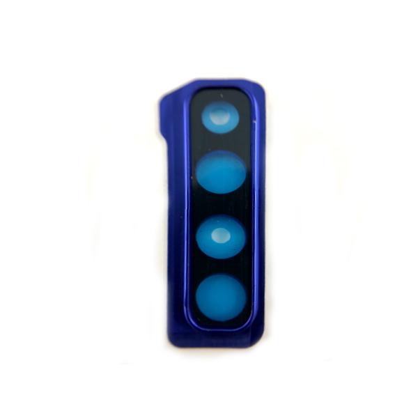 a blue