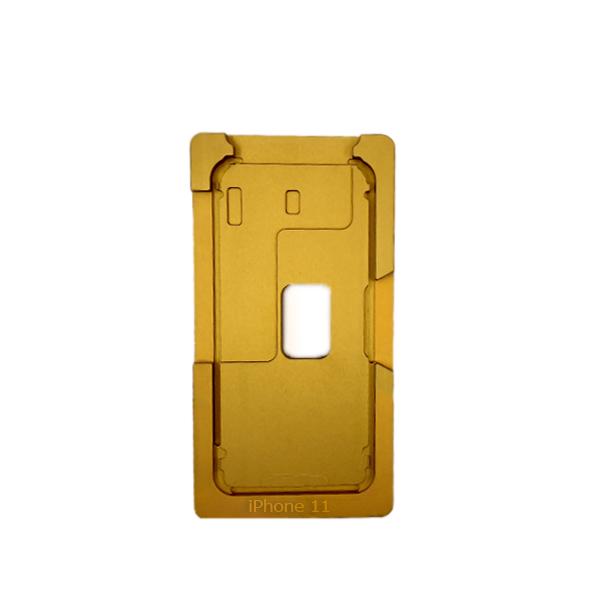 قالب فلزی نصب گلس تعمیراتی با فريم آیفون  IPHONE 11