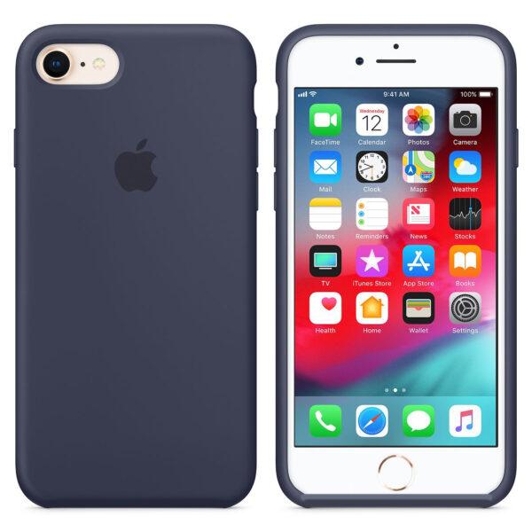 silicone gard iphone nvay blue   e