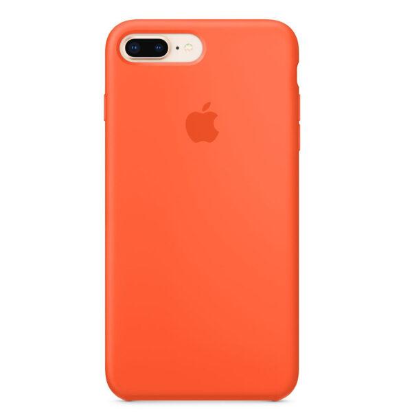silicone gard iphone orange e