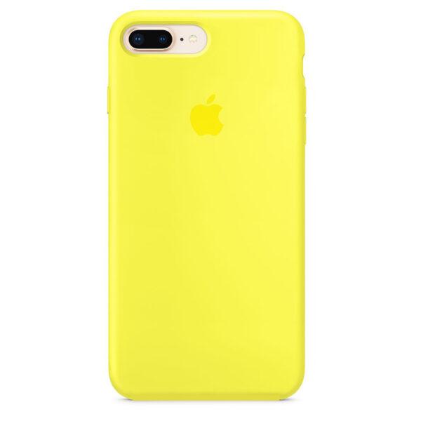قاب محافظ سيليكوني فول اورجینال زرد مناسب براي گوشی موبايل آیفون 7PLUS / 8PLUS
