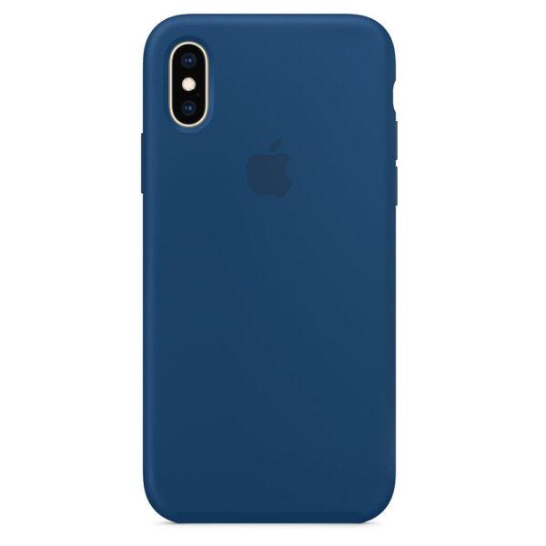 silicone gard iphonex blue  e
