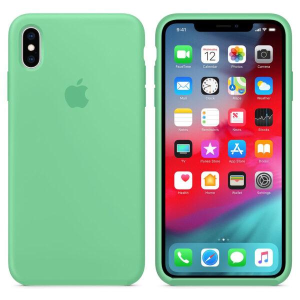 silicone gard iphonex green   e