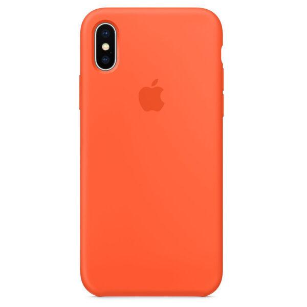 silicone gard iphonex orange  e