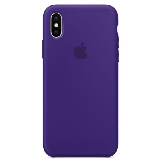 silicone gard iphonex purple