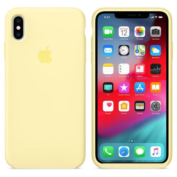 silicone gard iphonex yellow   e
