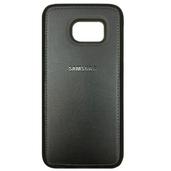 قاب چرمي گوشی سامسونگ SAMSUNG S7 مشكي