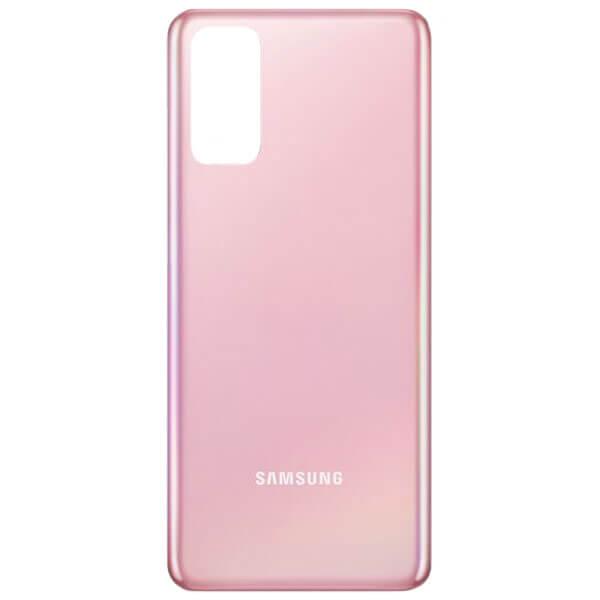 درب پشت گوشی موبایل سامسونگ SAMSUNG S20 اورجینال صورتی
