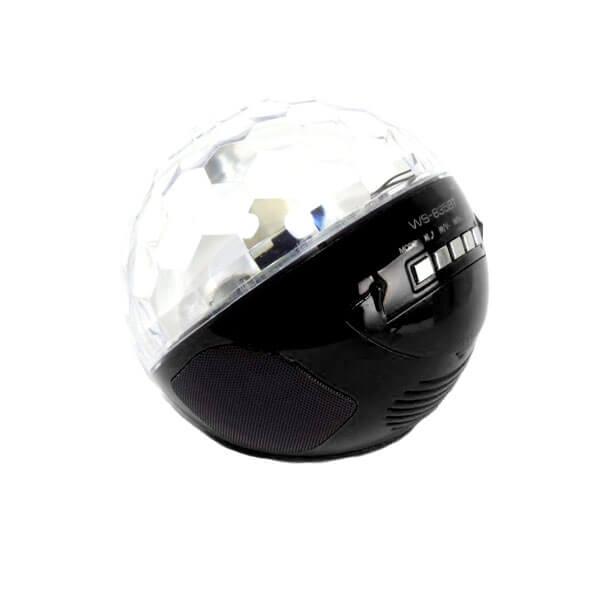 اسپیکر بلوتوثی قابل حمل COLOR BALL SPEAKER مدل WS-635BT اورجینال مشکی
