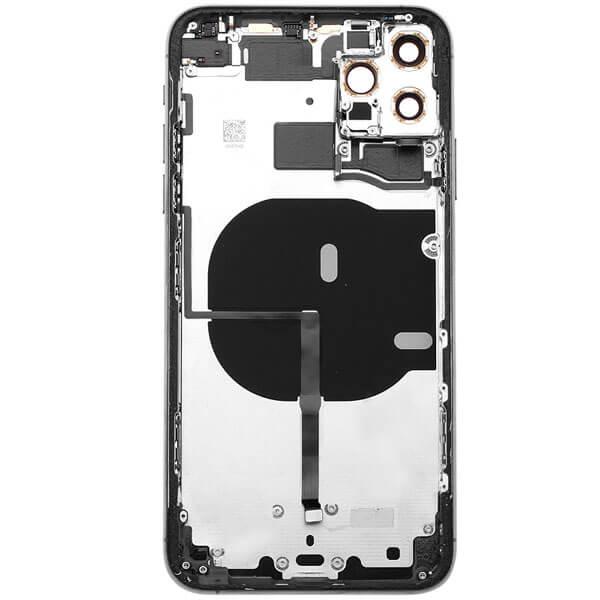 قاب و بدنه آیفون IPHONE 11 PRO MAX با فلت اورجینال مشکی