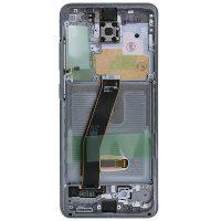 تاچ ال سی دی گوشی موبایل سامسونگ SAMSUNG S20 اورجینال مشکی