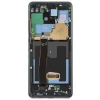 تاچ ال سی دی گوشی موبایل سامسونگ SAMSUNG S20 ULTRA اورجینال مشکی