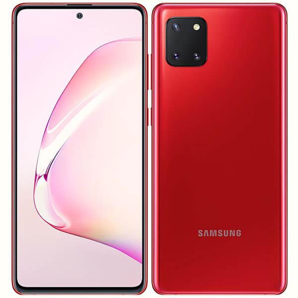 گوشی موبایل سامسونگ نوت SAMSUNG NOTE 10 LITE /N770 اورجینال قرمز