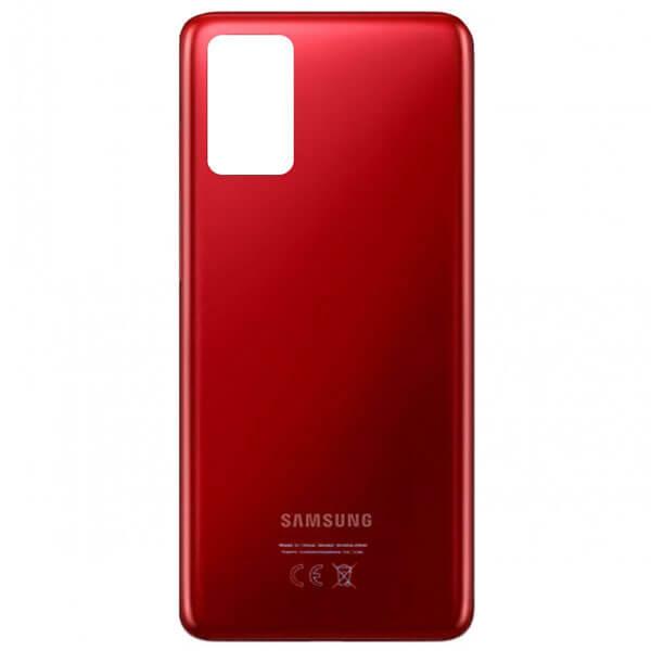 درب پشت گوشی موبایل سامسونگ SAMSUNG S20 اورجینال قرمز