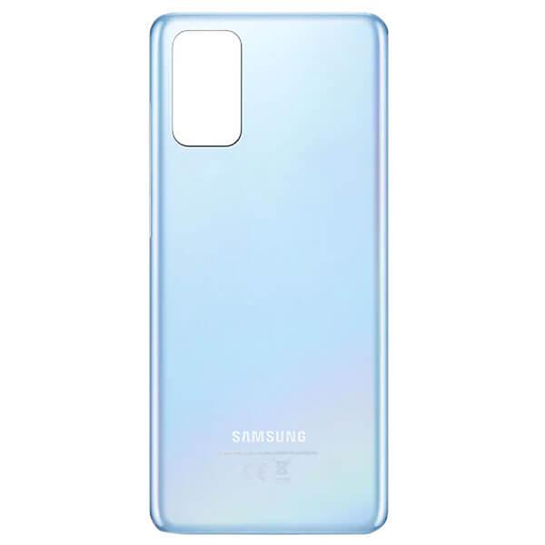 درب پشت گوشی موبایل سامسونگ SAMSUNG S20 اورجینال آبی