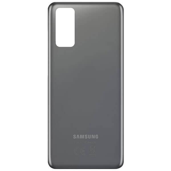درب پشت گوشی موبایل سامسونگ SAMSUNG S20 اورجینال خاکستری