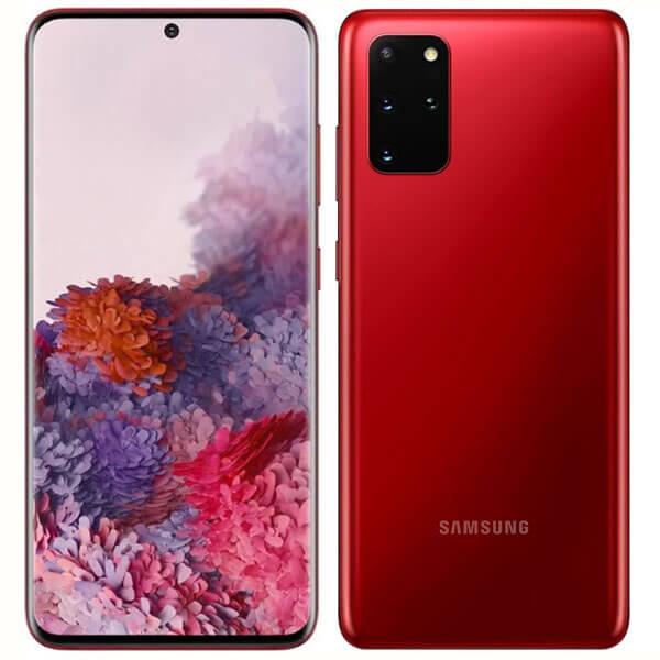 گوشی موبایل سامسونگ SAMSUNG S20 PLUS اورجینال قرمز