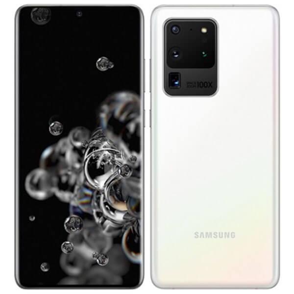 گوشی موبایل سامسونگ SAMSUNG S20 ULTRA اورجینال سفید