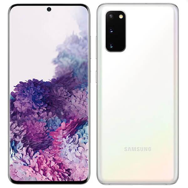 گوشی موبایل سامسونگ SAMSUNG S20 اورجینال سفید