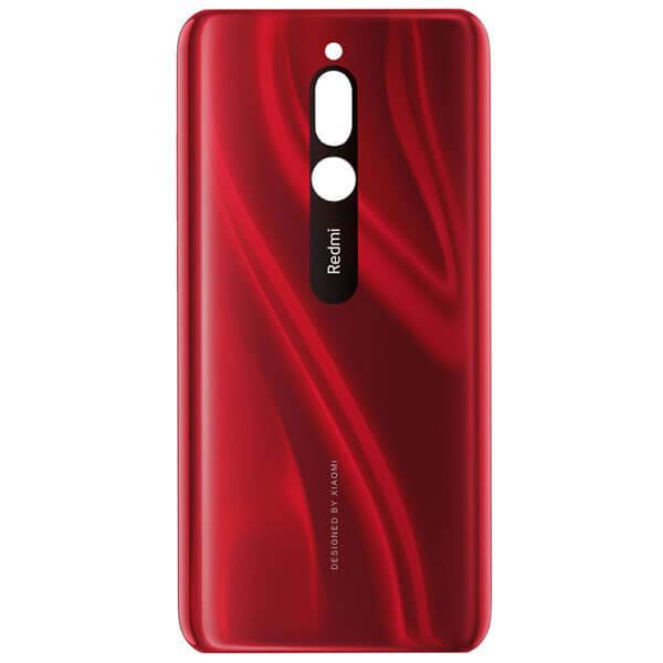 درب پشت گوشی شیائومی XIAOMI REDMI 8 اورجینال قرمز