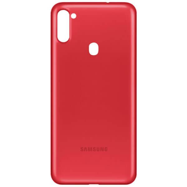 درب پشت گوشی سامسونگ SAMSUNG A11 / A115 اورجینال قرمز