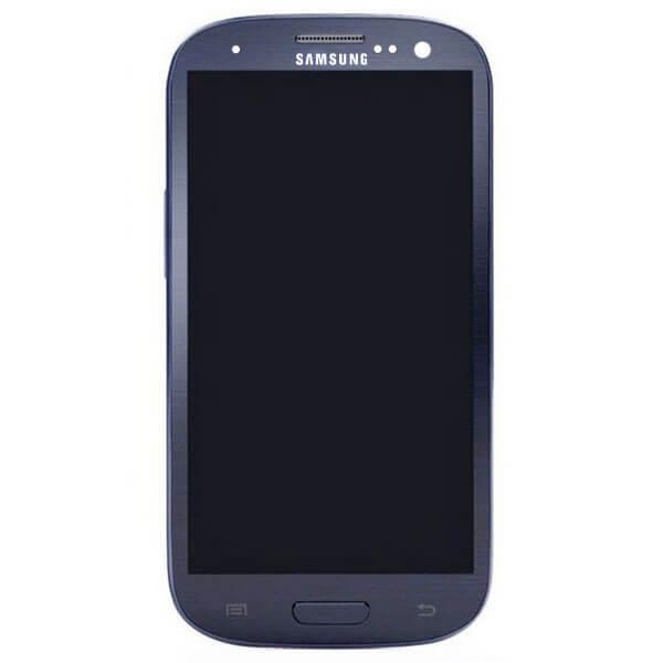 تاچ ال سی دی گوشی سامسونگ SAMSUNG I9300 / S3 اورجینال شرکتی با فریم آبی