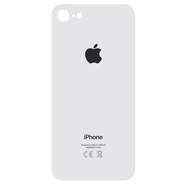 درب پشت گوشی آیفون IPHONE 8 اورجینال سفید با حفره بزرگ