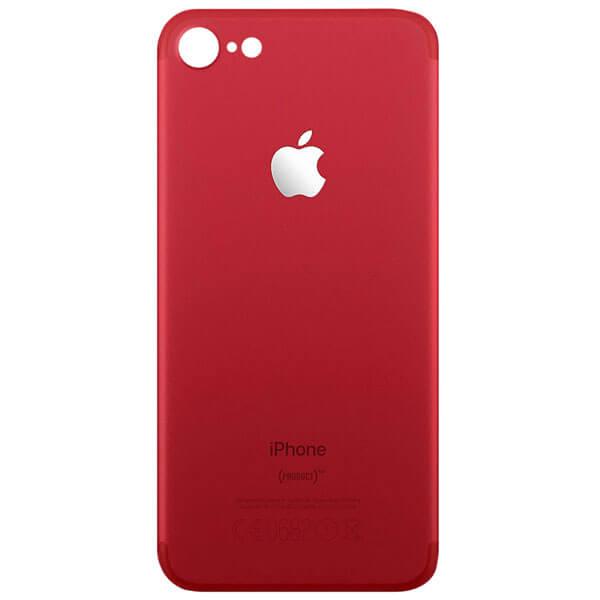 درب پشت گوشی آیفون IPHONE 8 اورجینال قرمز با حفره بزرگ