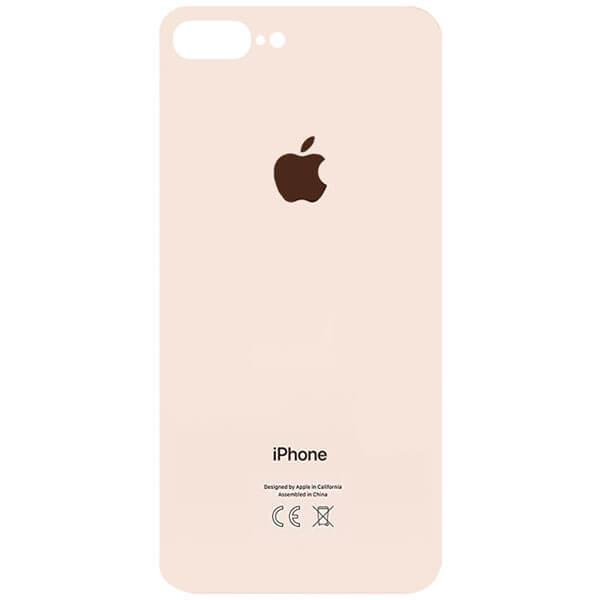درب پشت گوشی آیفون IPHONE 8 PLUS اورجینال طلایی با حفره بزرگ