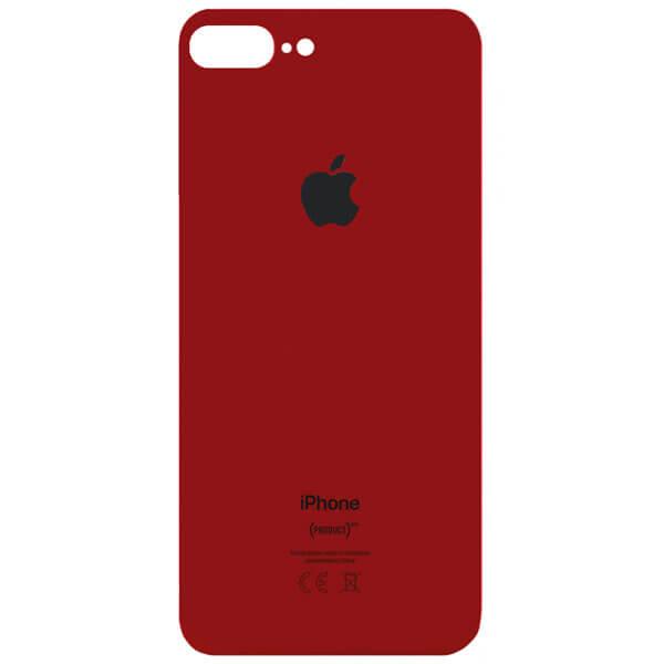 درب پشت گوشی آیفون IPHONE 8 PLUS اورجینال قرمز با حفره بزرگ