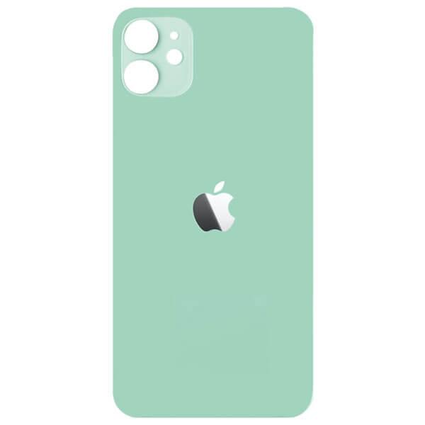 درب پشت گوشی آیفون IPHONE 11 اورجینال سبز با حفره بزرگ