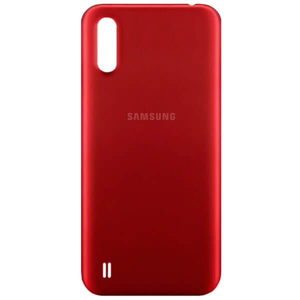 درب پشت گوشی سامسونگ SAMSUNG A01 / A015 اورجینال قرمز