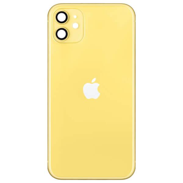 قاب و بدنه گوشی آیفون IPHONE 11 اورجینال زرد